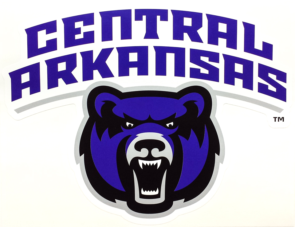 Central Arkansas Over Bearhead XL Removable Wall Decal