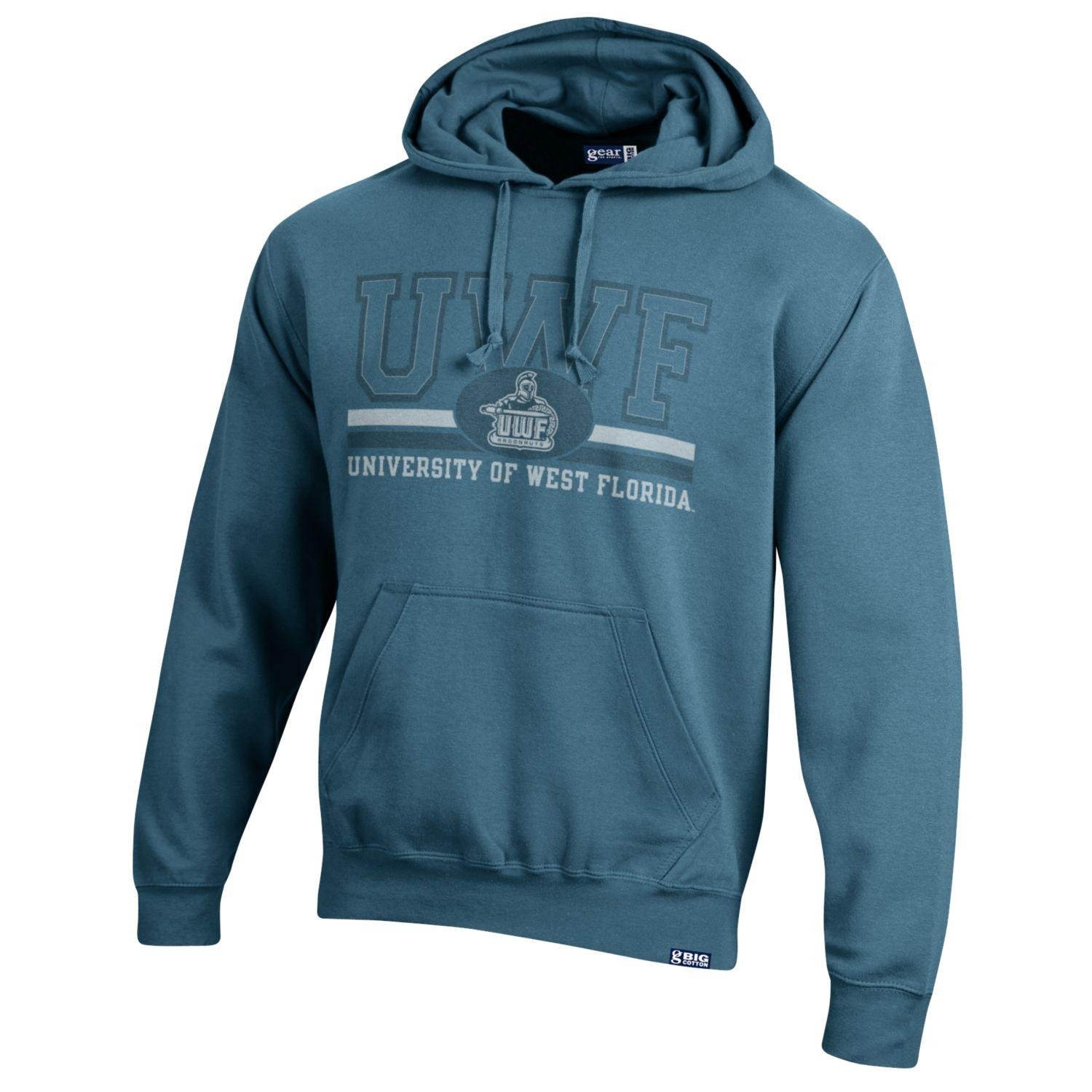 BIG COTTON TUMBLED HOODIE