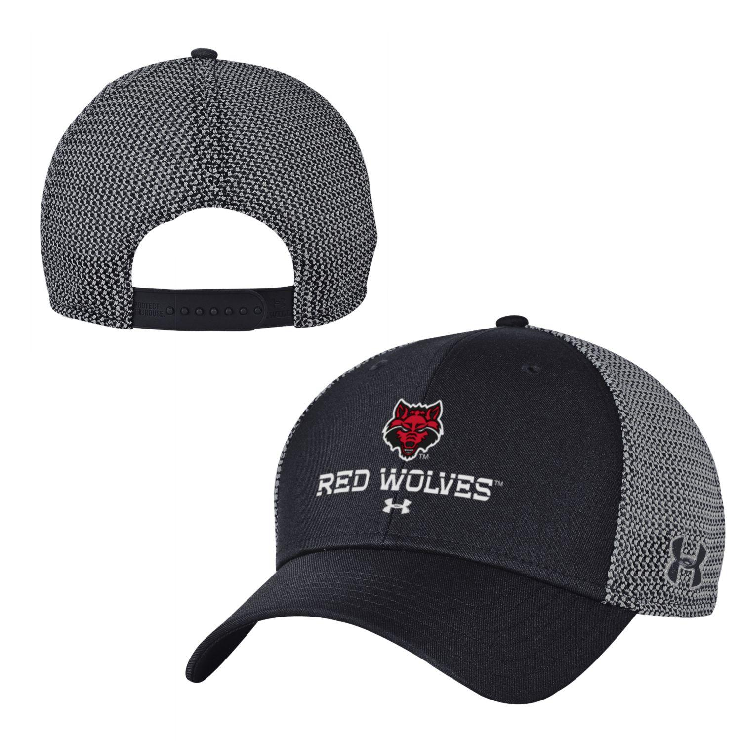 Red Wolves Mesh Snapback