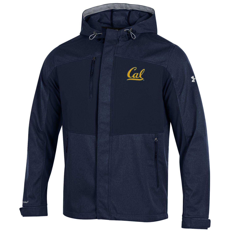 University of California Berkeley Under Armour Mix Hooded Soft Shell