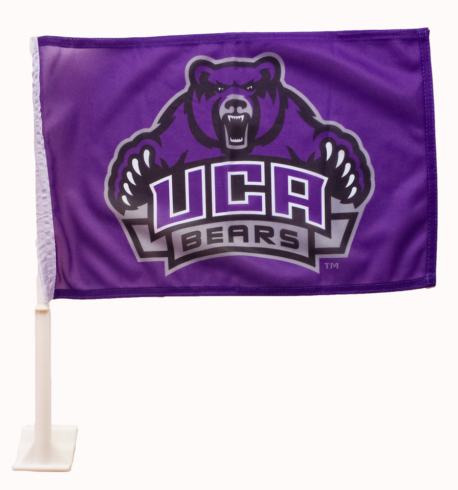UCA Car Flag