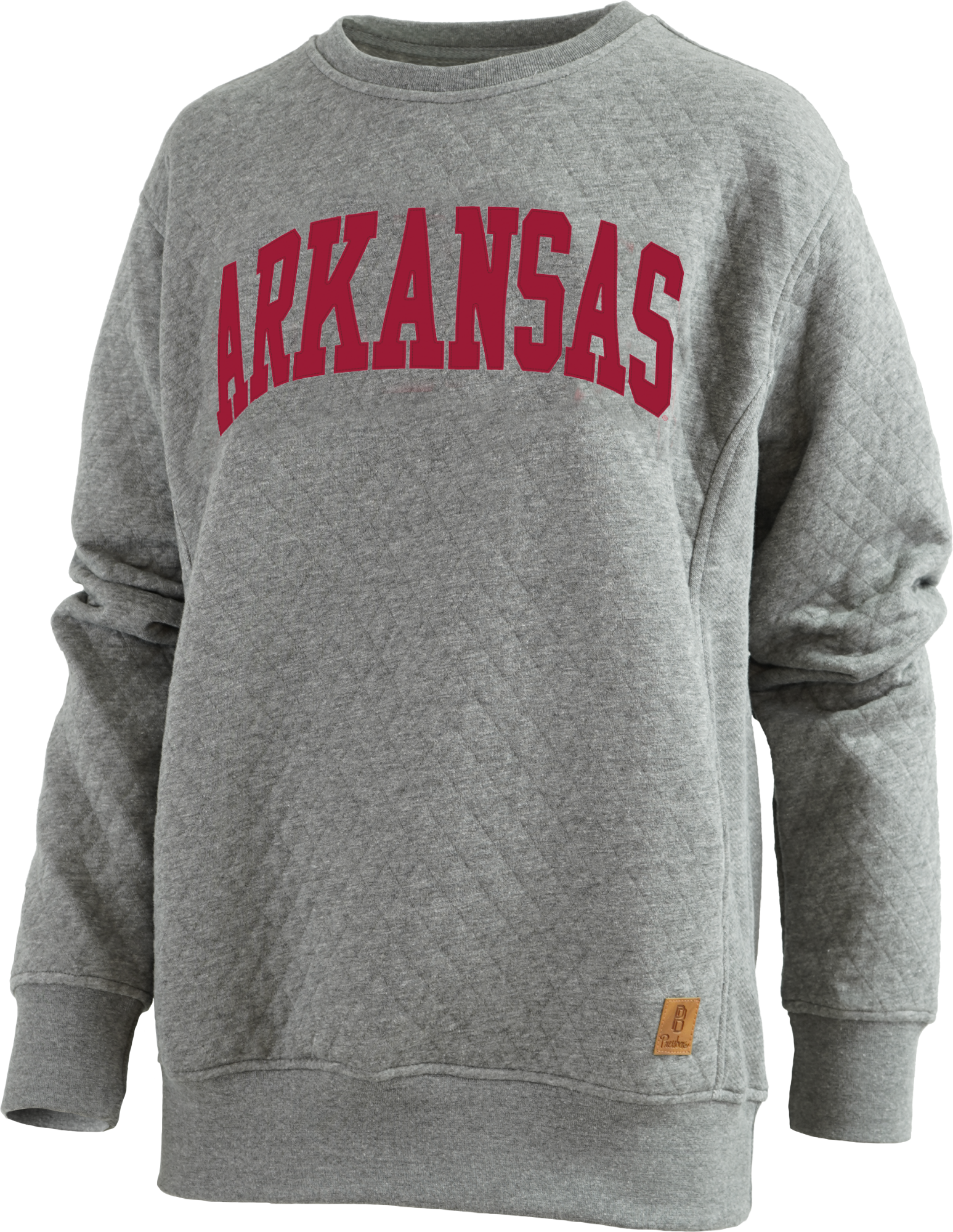 W UA Quilted LS Crewneck
