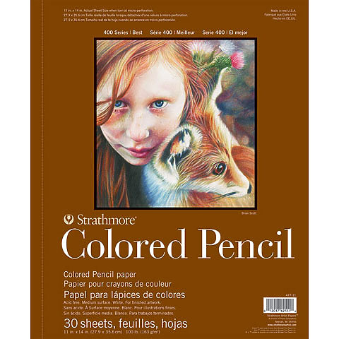 Colored Pencil Pad 400 Series 9x12