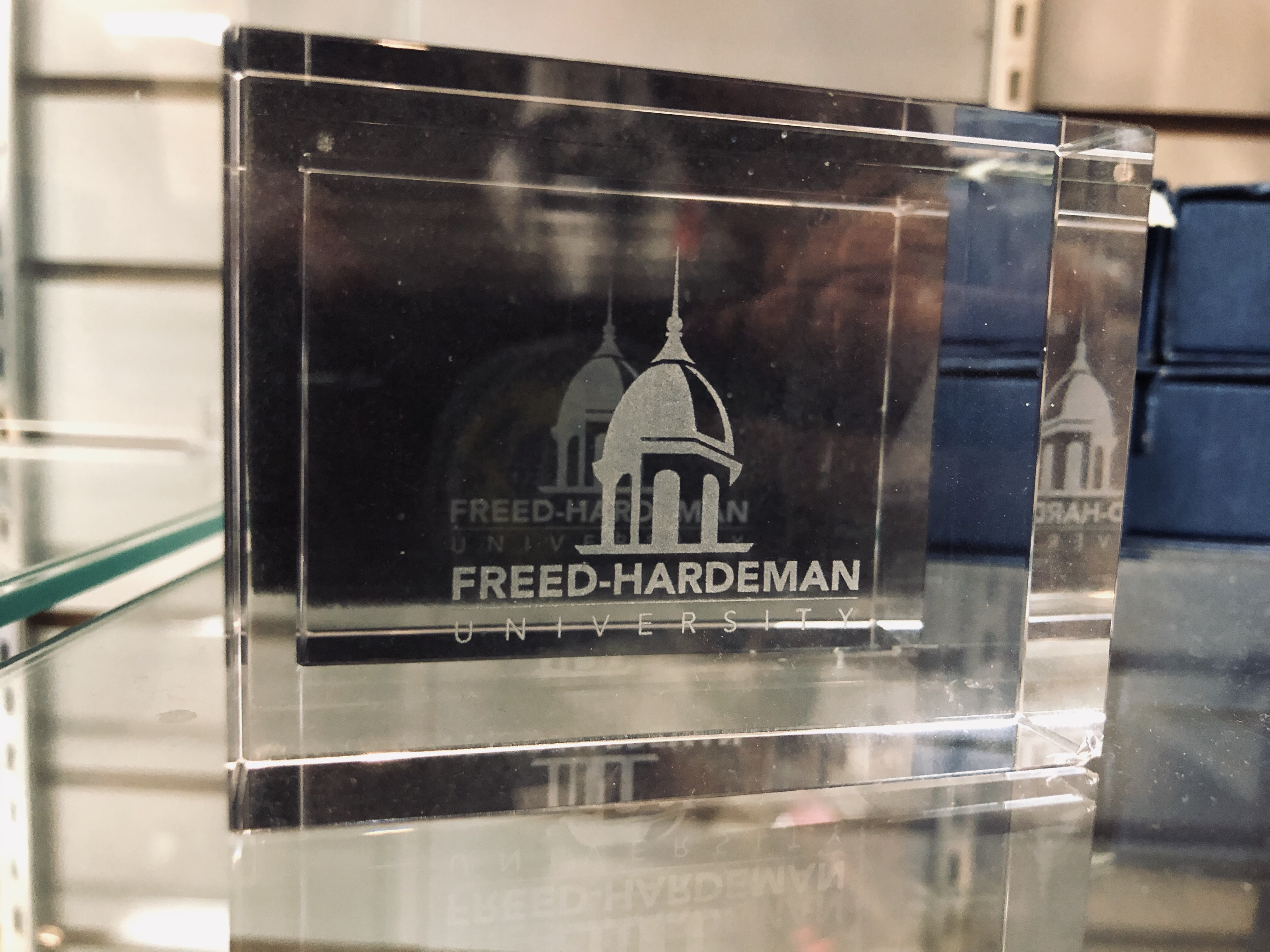 FHU Paperweight