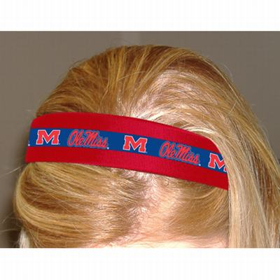 Ole Miss Red/Blue Hairband