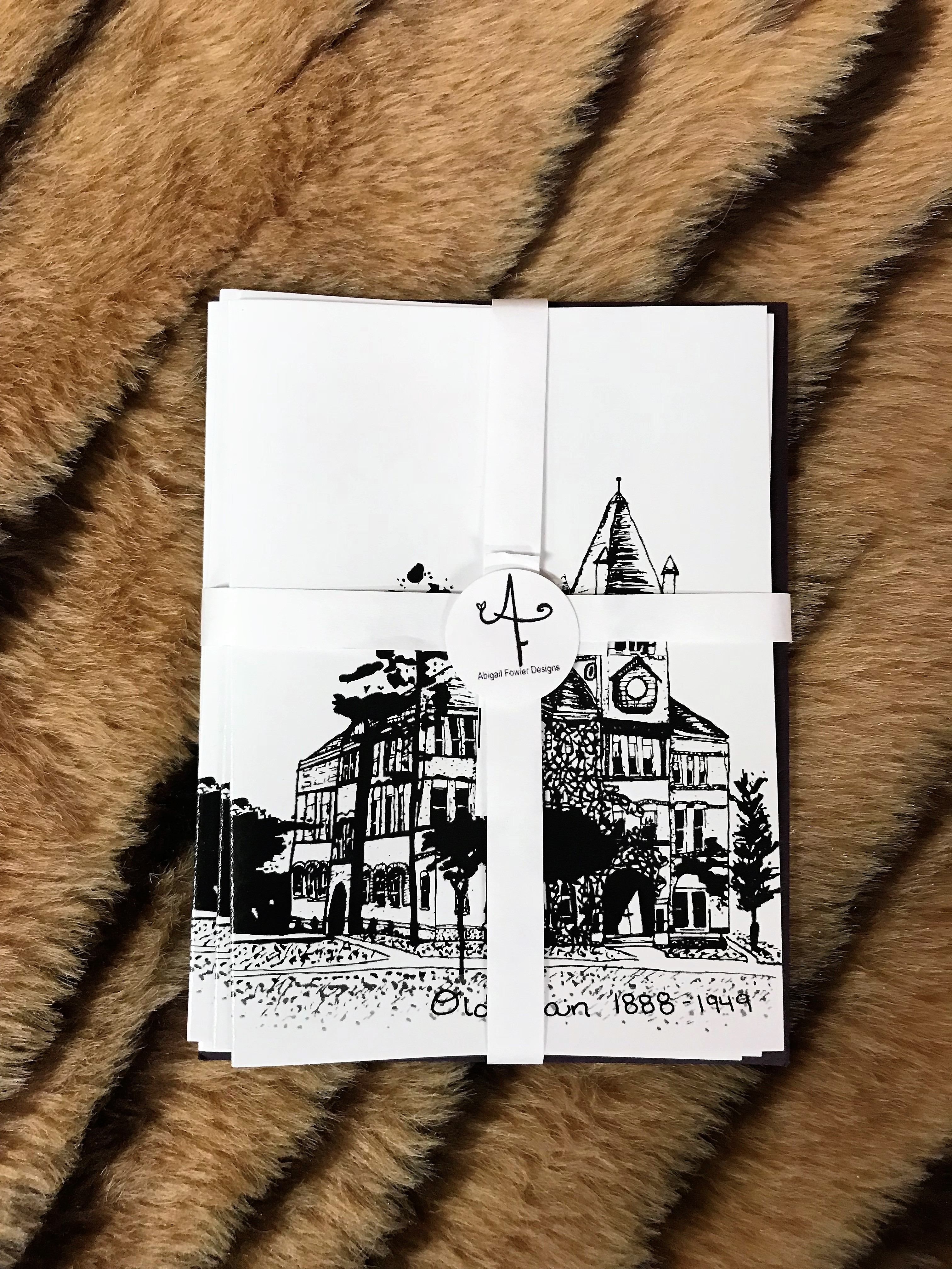ABIGAIL FOWLER NOTE CARDS-OLD MAIN