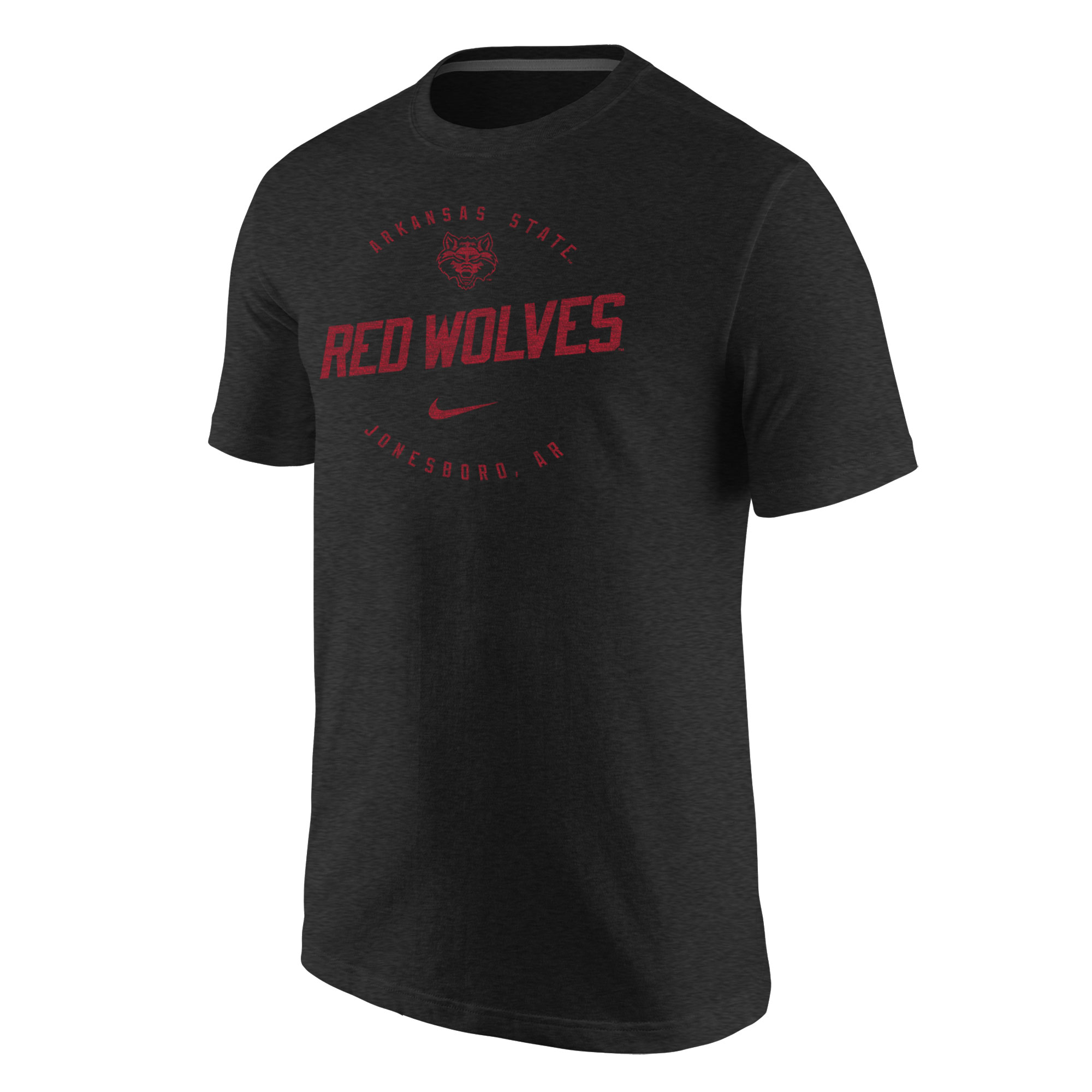 Arkansas State Red Wolves Triblend SS Tee