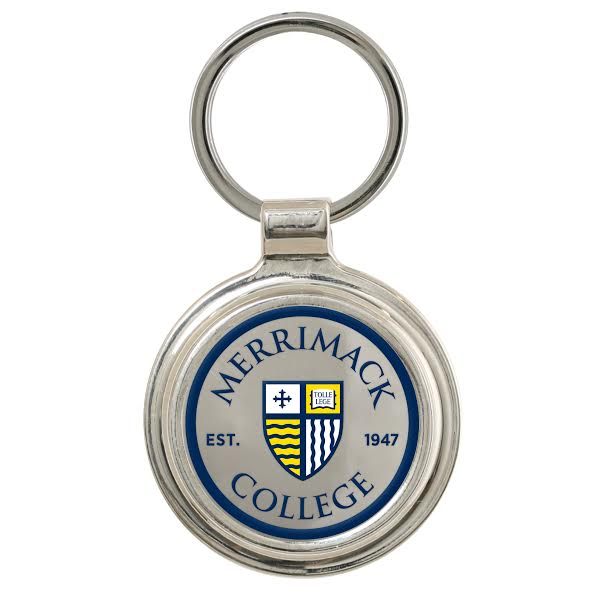 Round Logo Key Chain