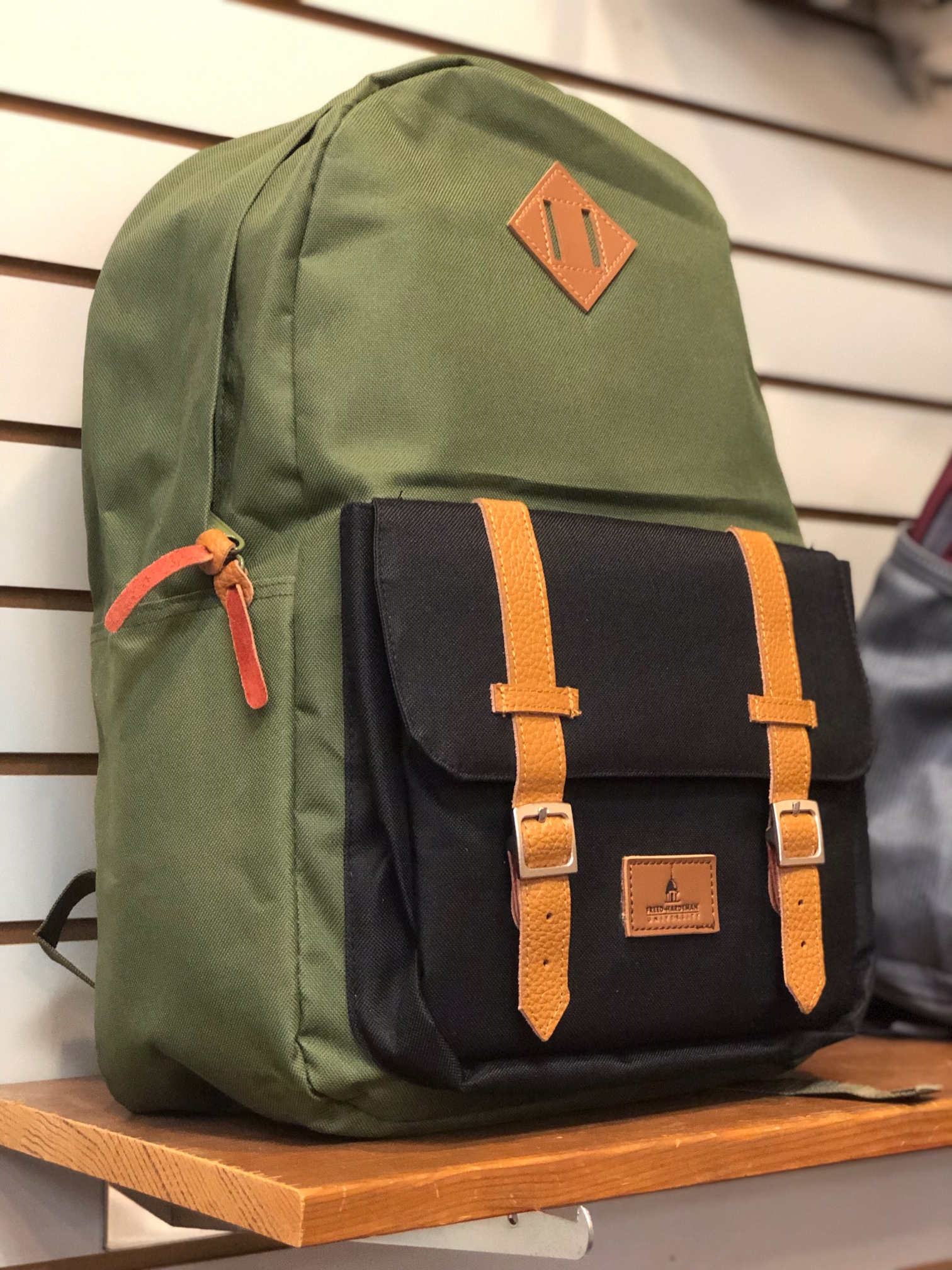 Romantica Backpack W/ Leather Patch