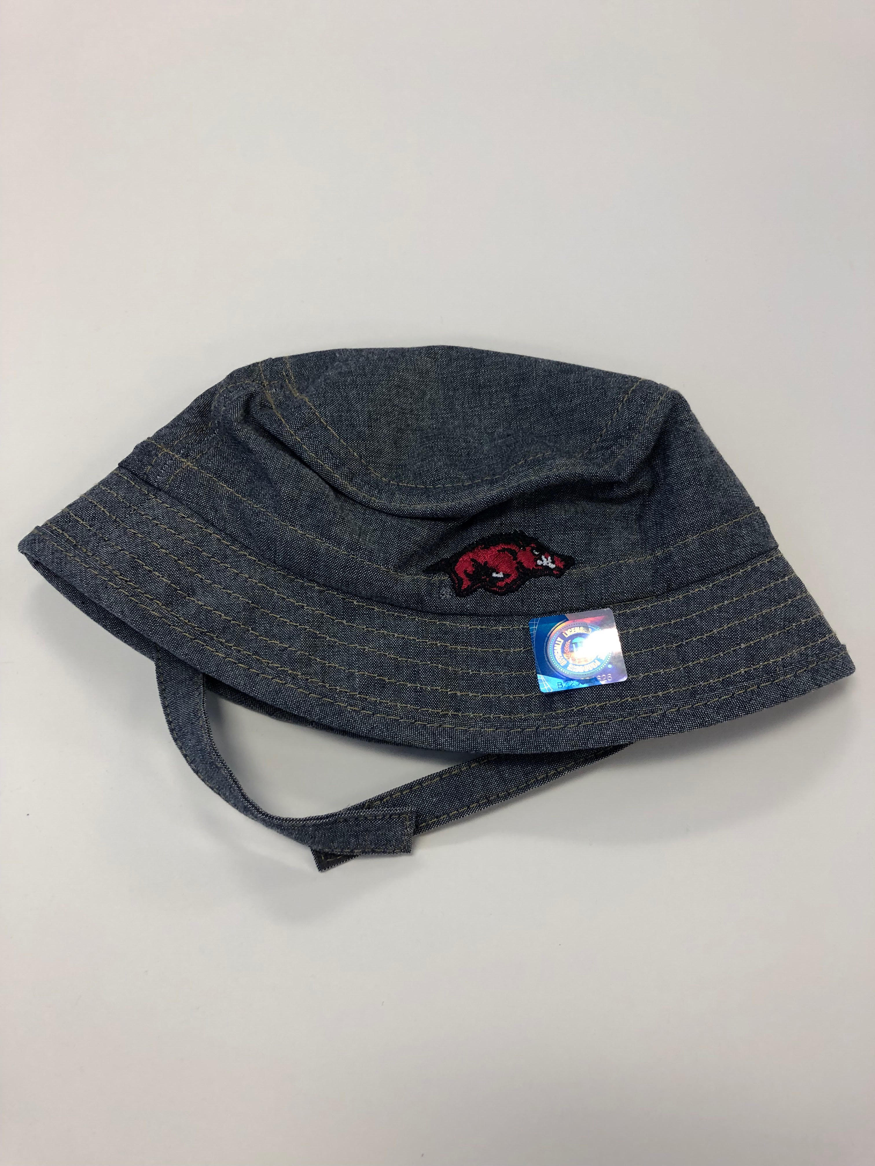 ALL ABOARD BUCKET INFANT TWILL HAT