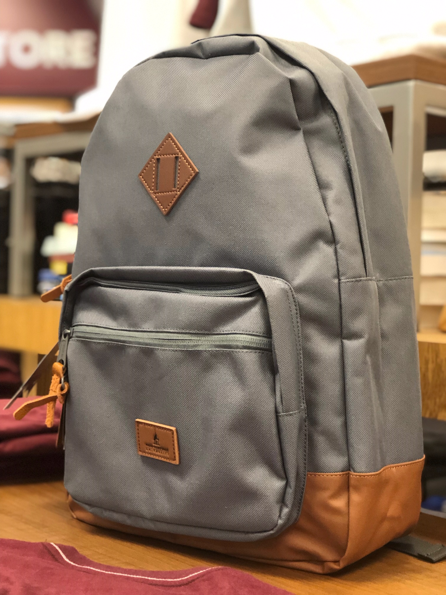 Luminosa Backpack W/ Leather Patch
