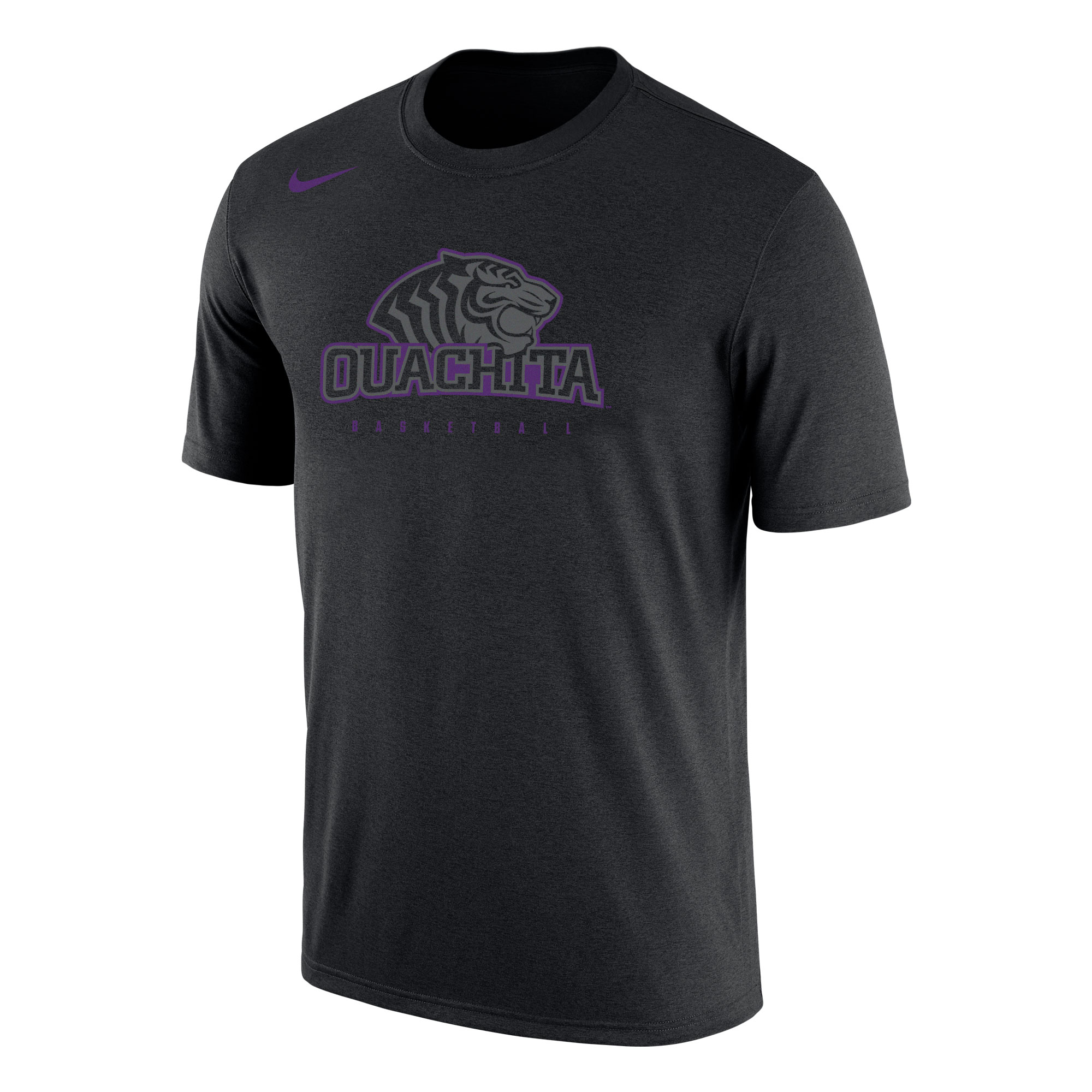 NIKE OUACHITA BASKETBALL DRI-FIT COTTON SHORT SLEEVE TSHIRT