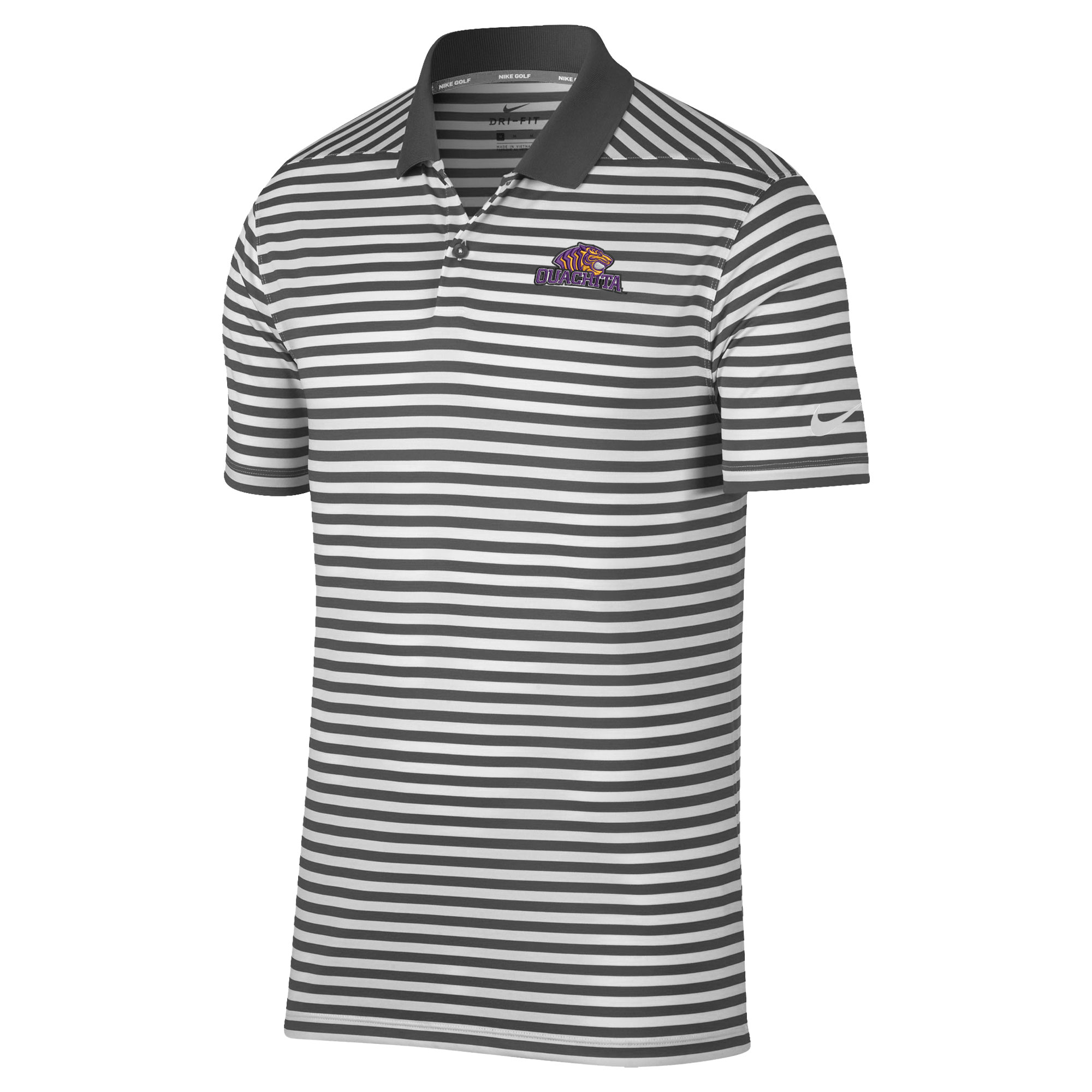 NIKE OUACHITA VICTORY STRIPE POLO