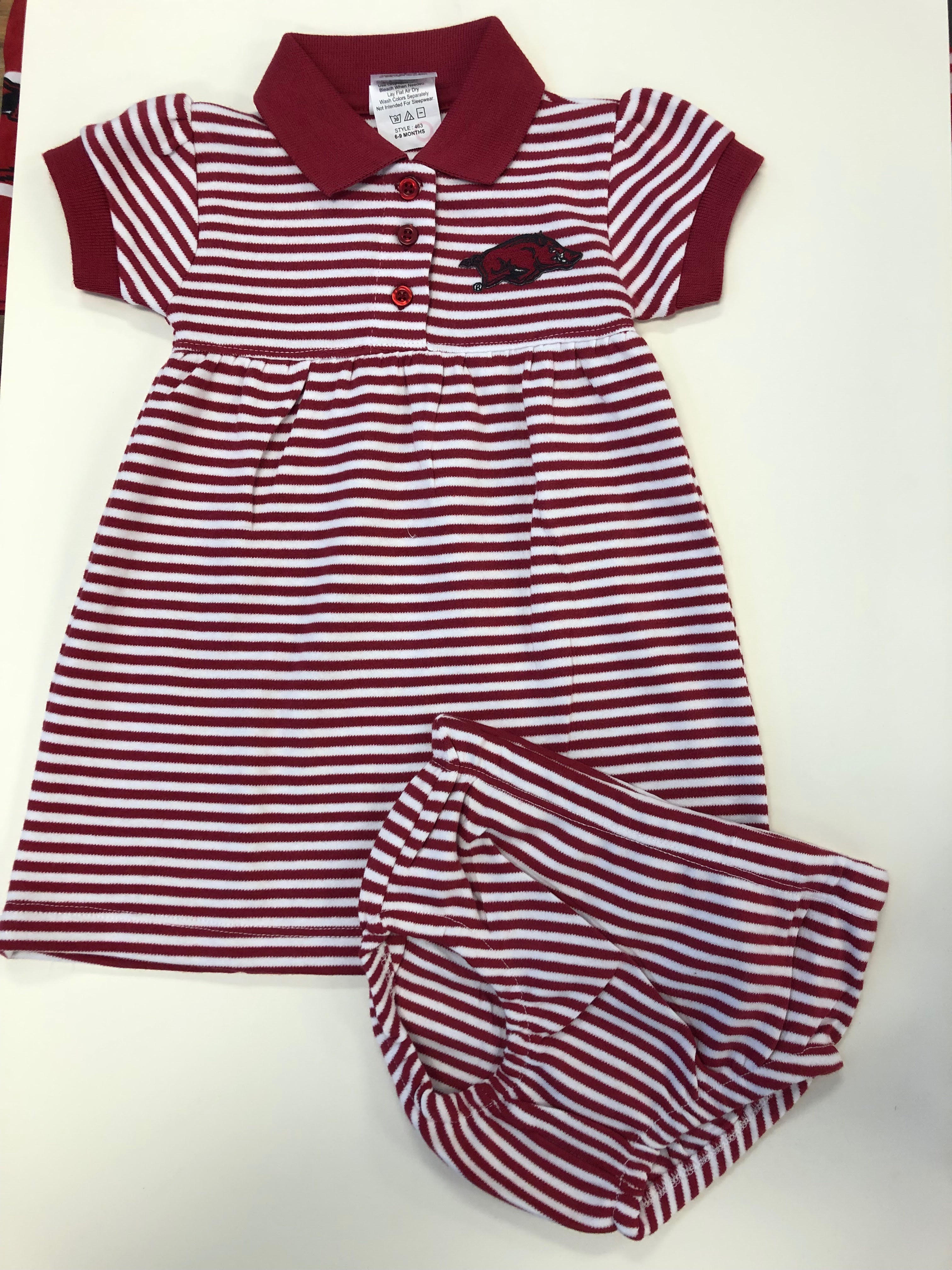 Gameday Striped Dress and Bloomer