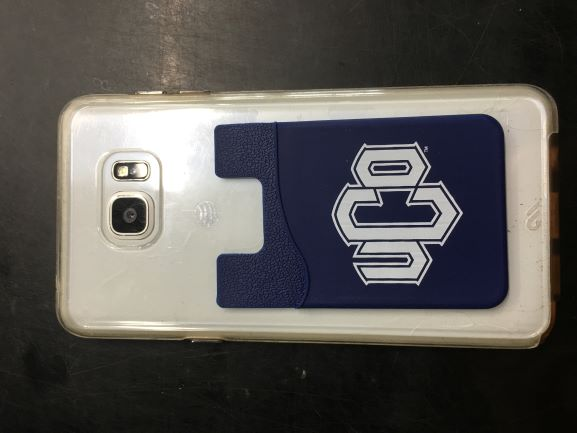 Cell Phone ID Holder