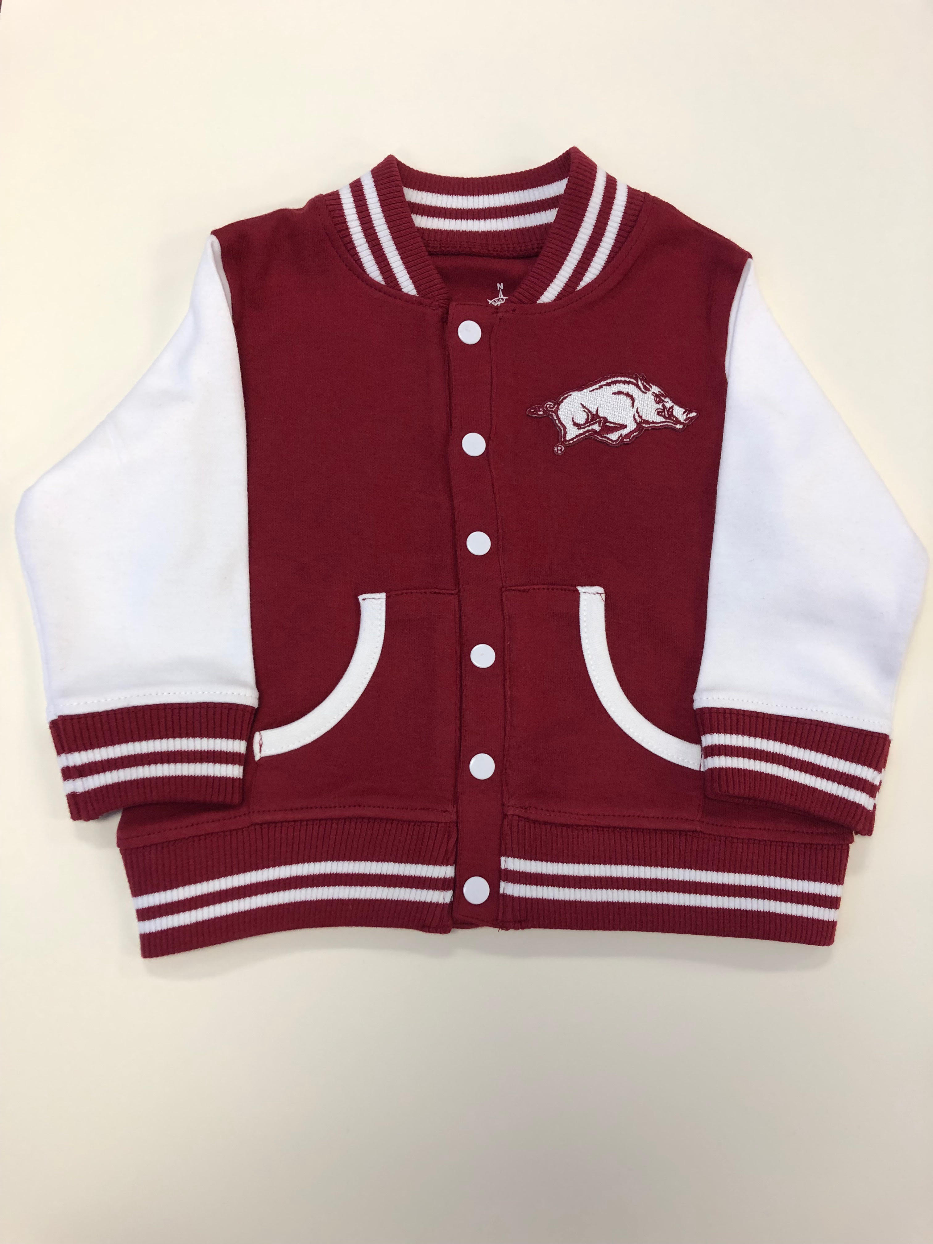 Razorback Toddler Varsity Jacket