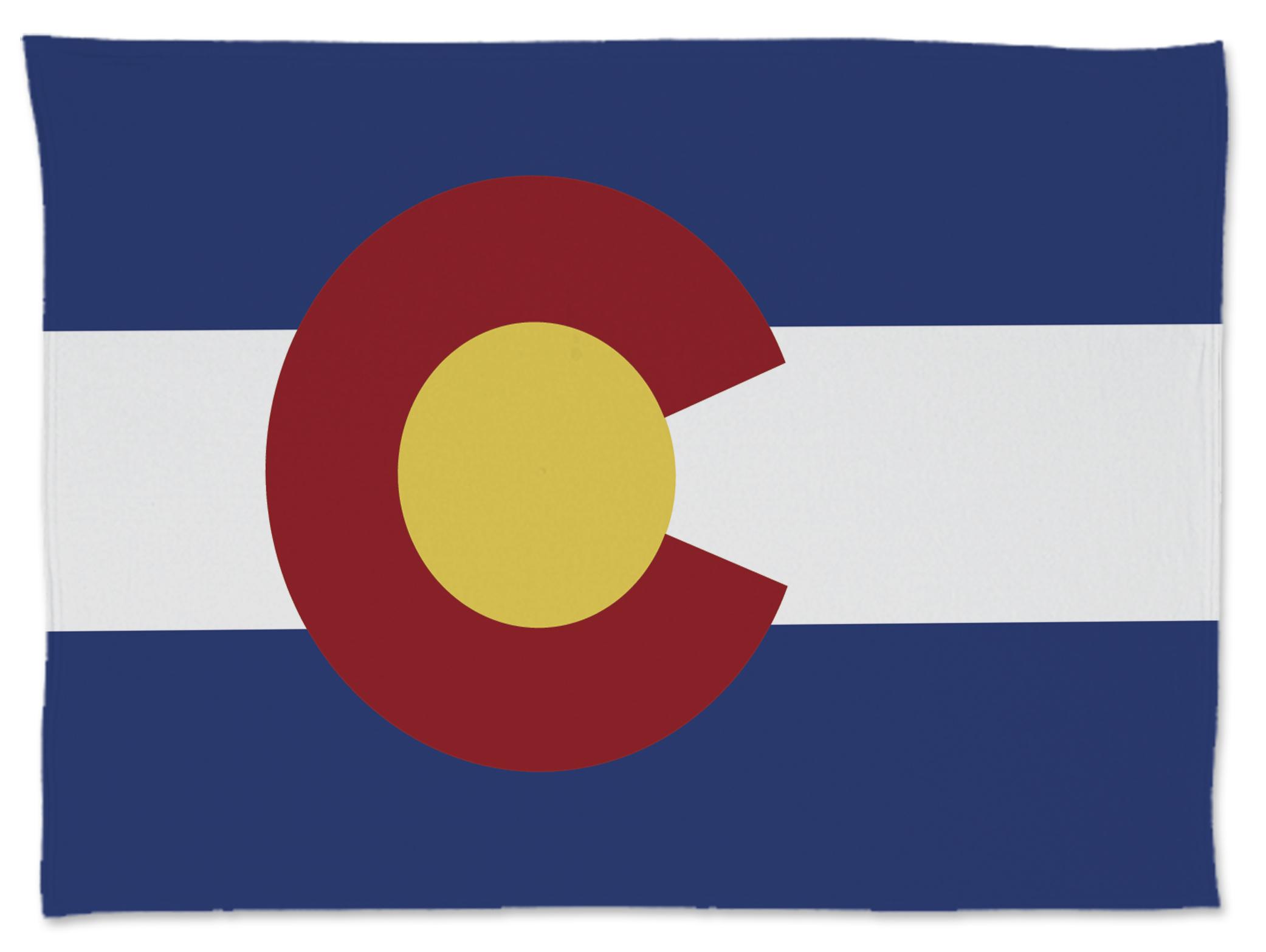 Colorado Flag Blanket