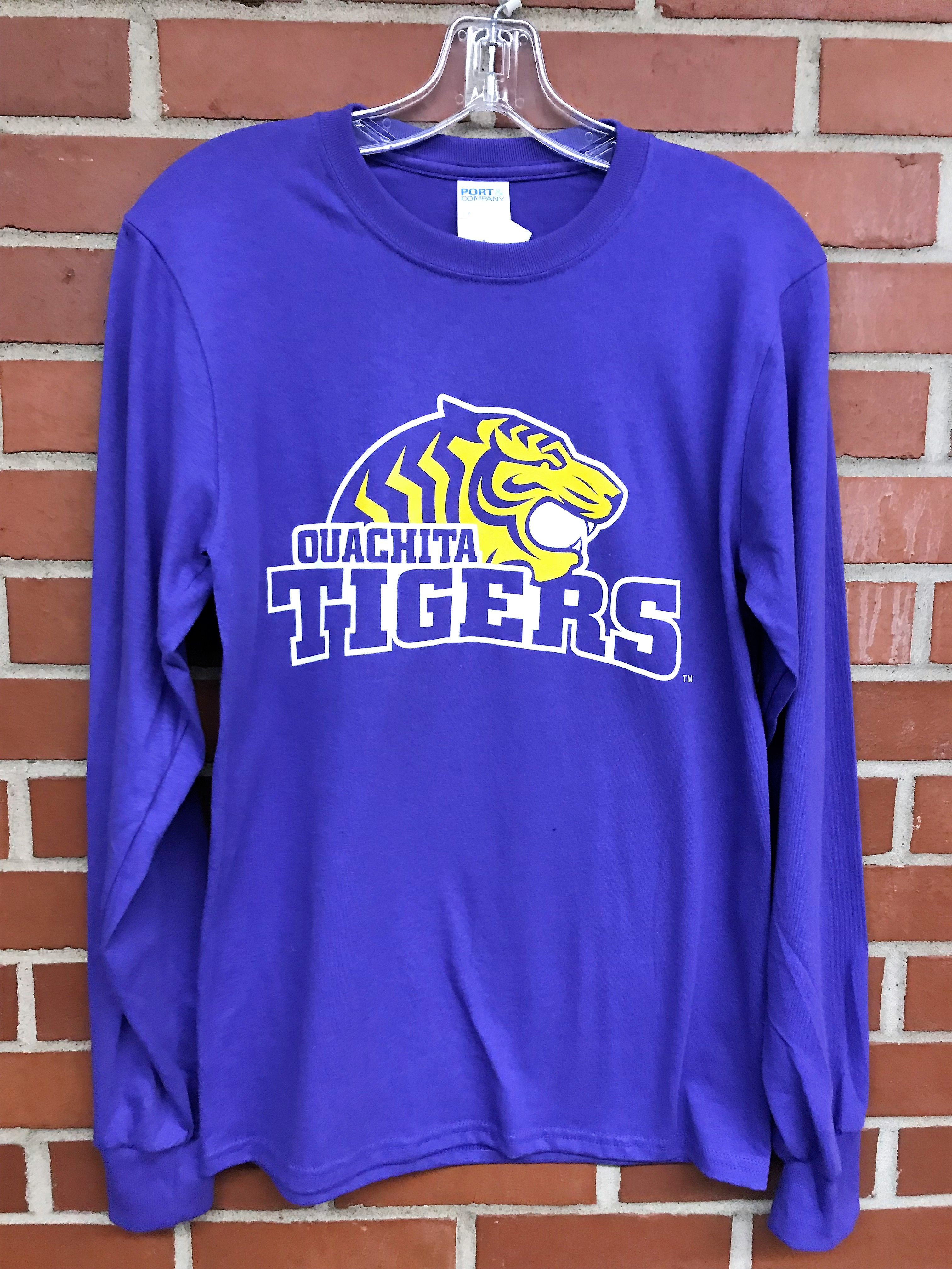 PURPLE OUACHITA BAPTIST UNIVERSITY LONG SLEEVE