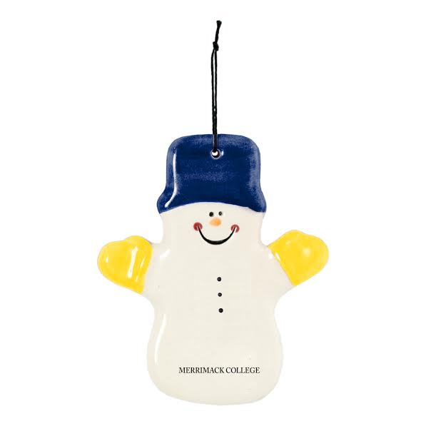 Claude Snowman Ornament
