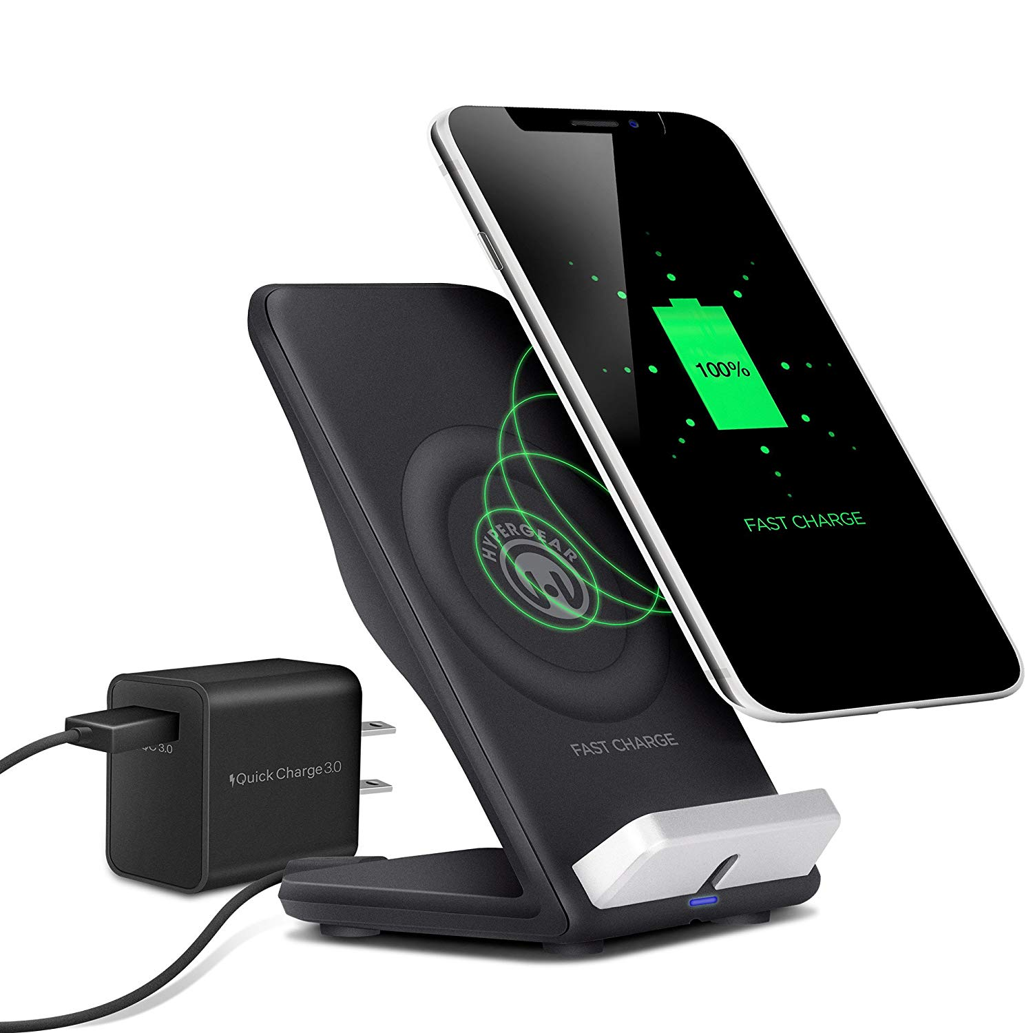 Hyper Gear Wireless Fast Charging Stand