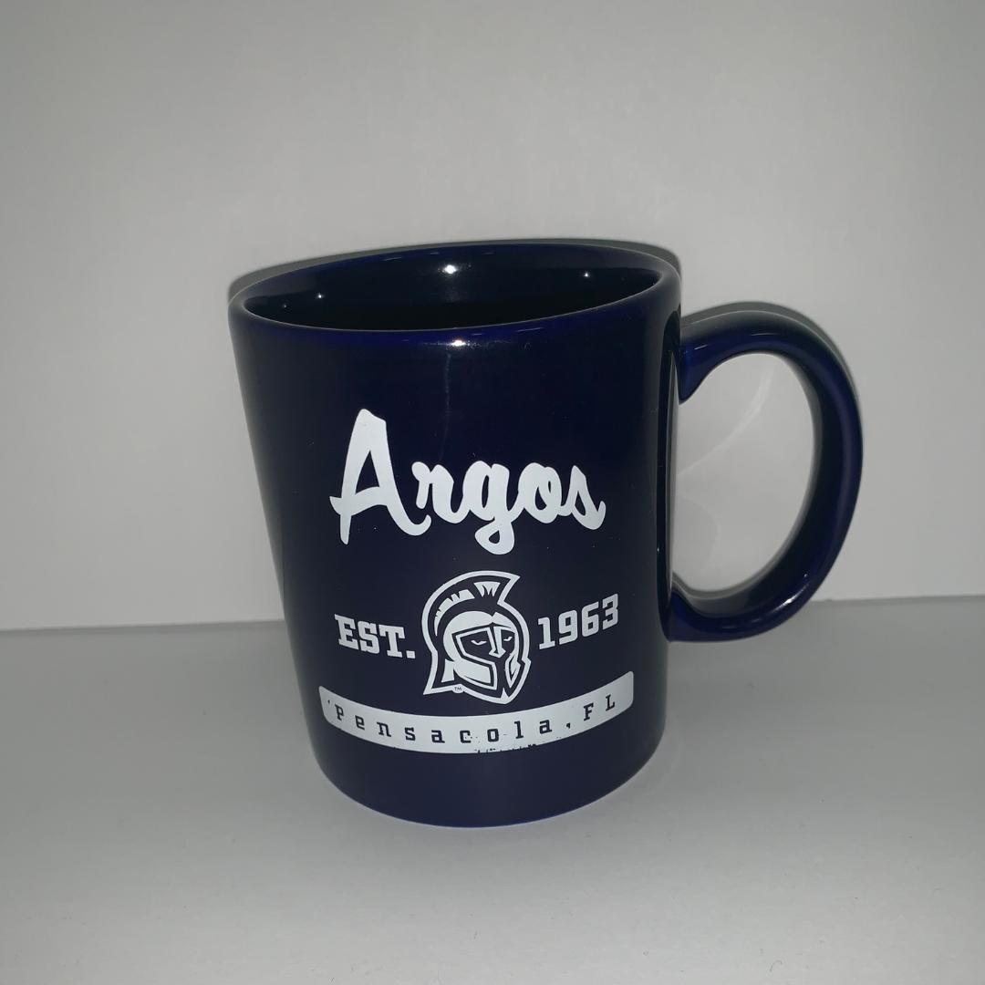 11OZ CAFE MUG- BLUE