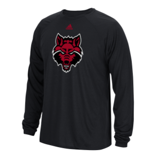 Red Wolves L/S Climalite Tee