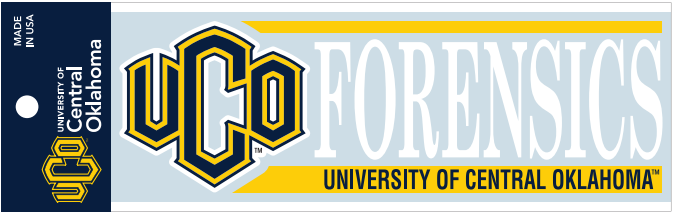 UCO Forensics Car Decal