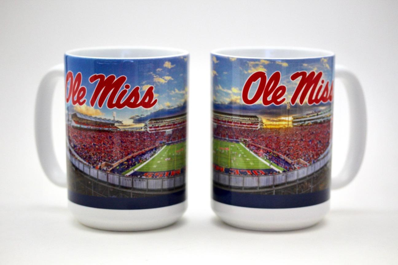 Vaught-Hemingway Stadium Mug Large