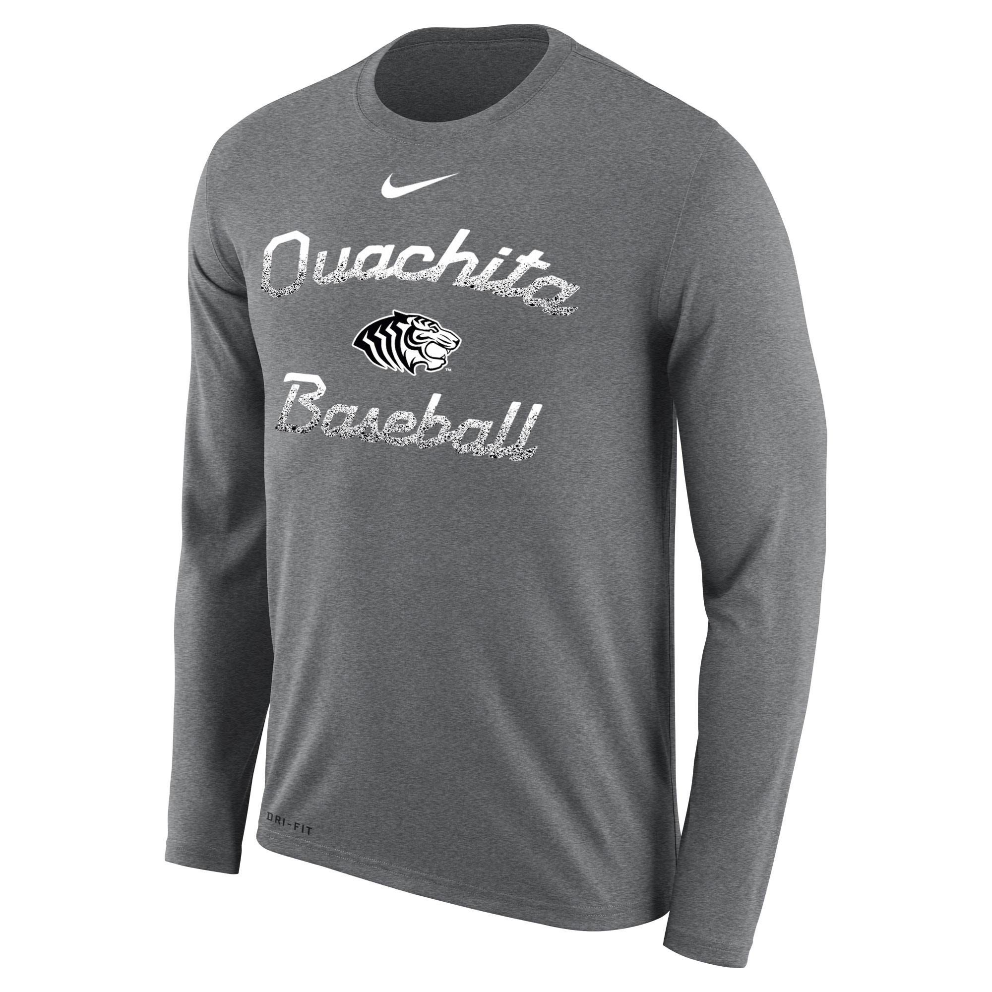 OUACHITA BASEBALL NIKE DRI-FIT LS TEE