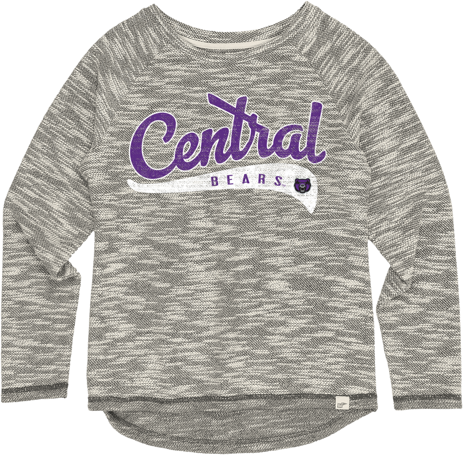 Heathered Central Crew Neck