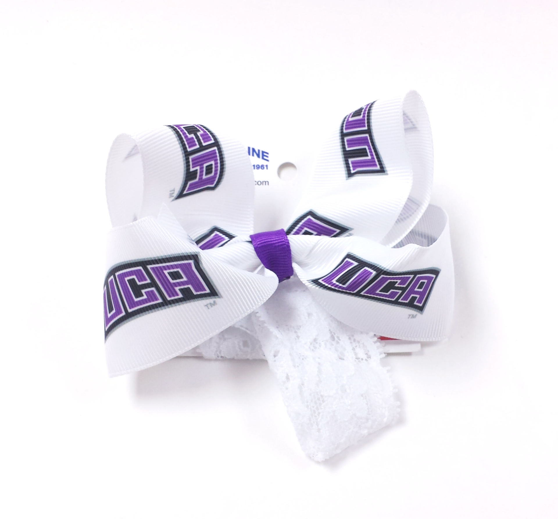 UCA Hair Bow Toddler Band