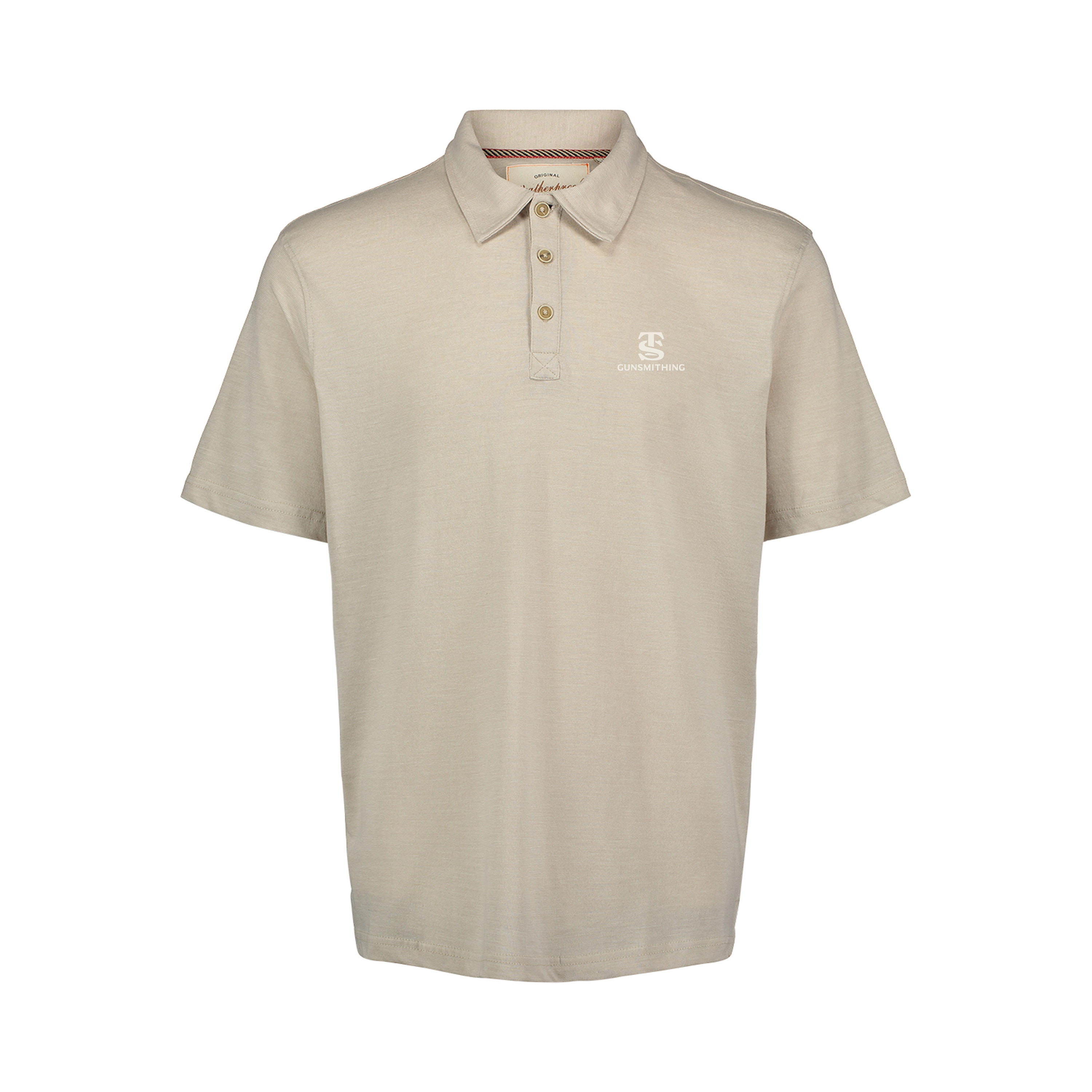 TS Gunsmithing 1/4 Button Polo