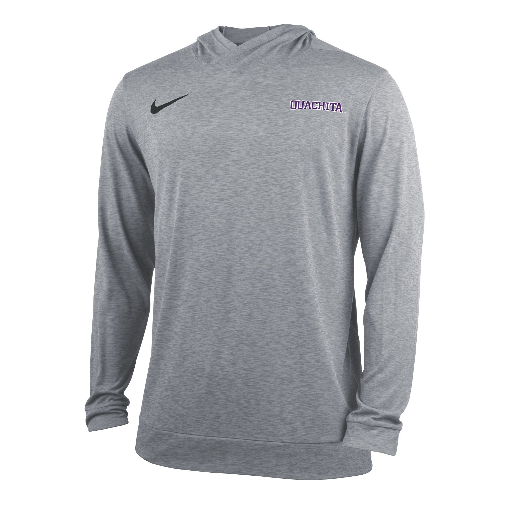 OUACHITA NIKE DRY TOP LS HOODY
