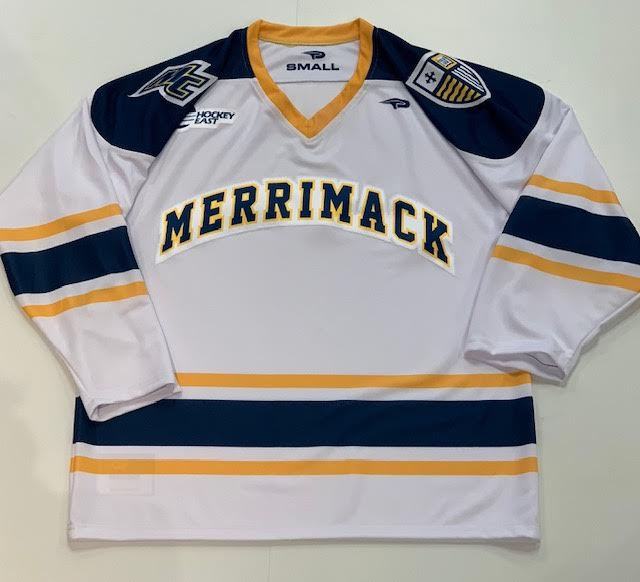Adult White Hockey Jersey