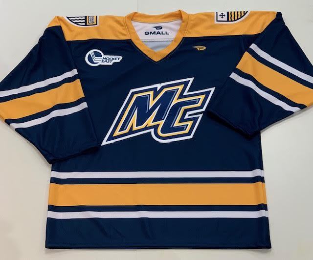 Adult Blue Hockey Jersey