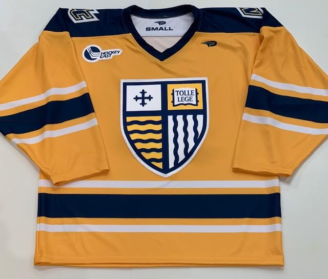 Adult Gold Hockey Jersey