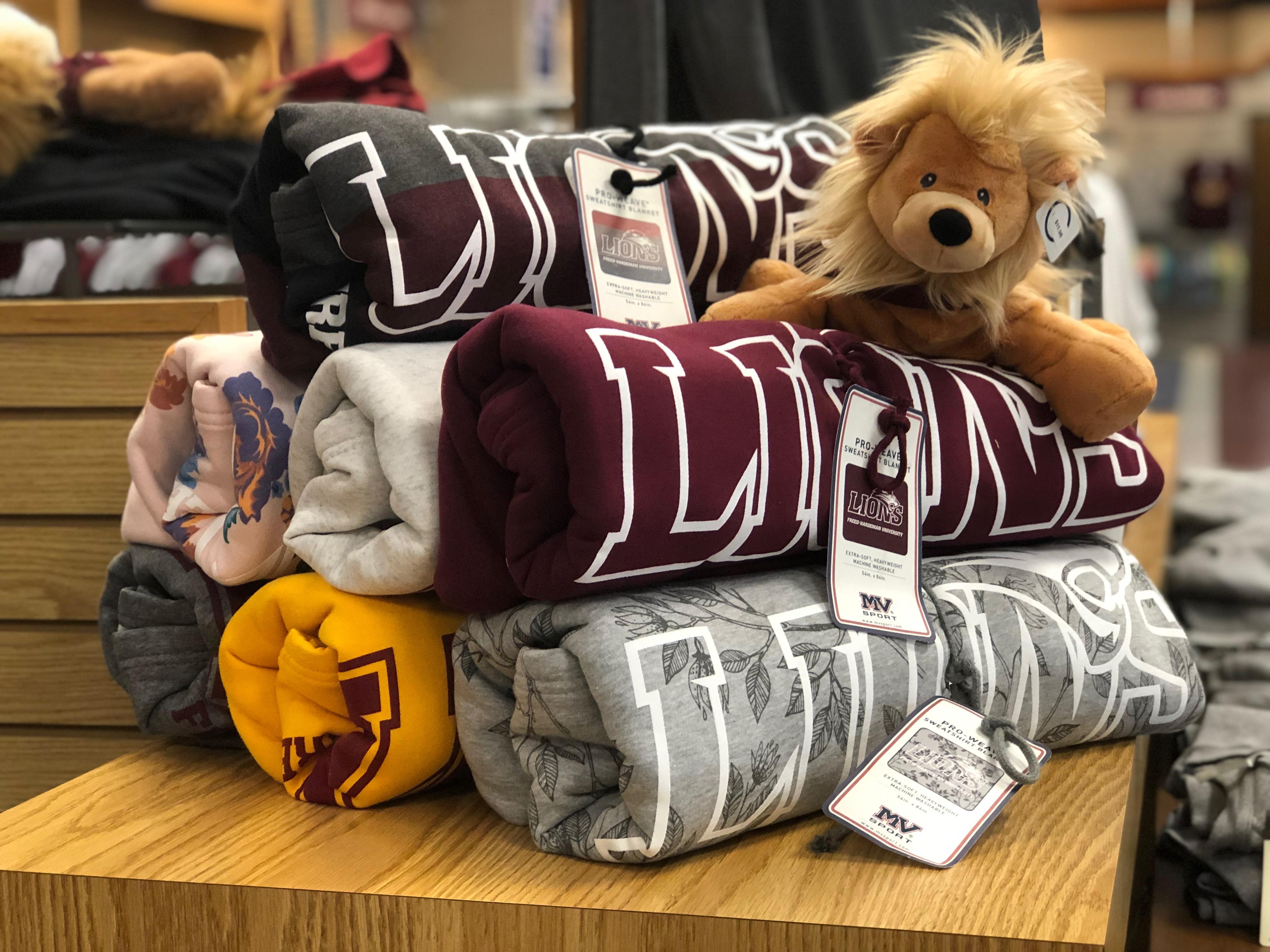 Lions Sweatshirt Blanket