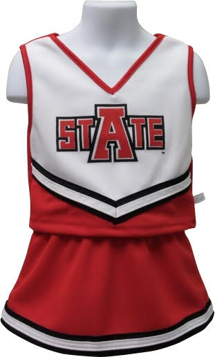 Red Wolves Cheerleading Uniform