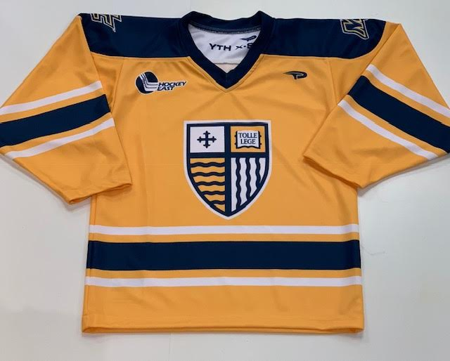 Youth Gold Hockey Jersey