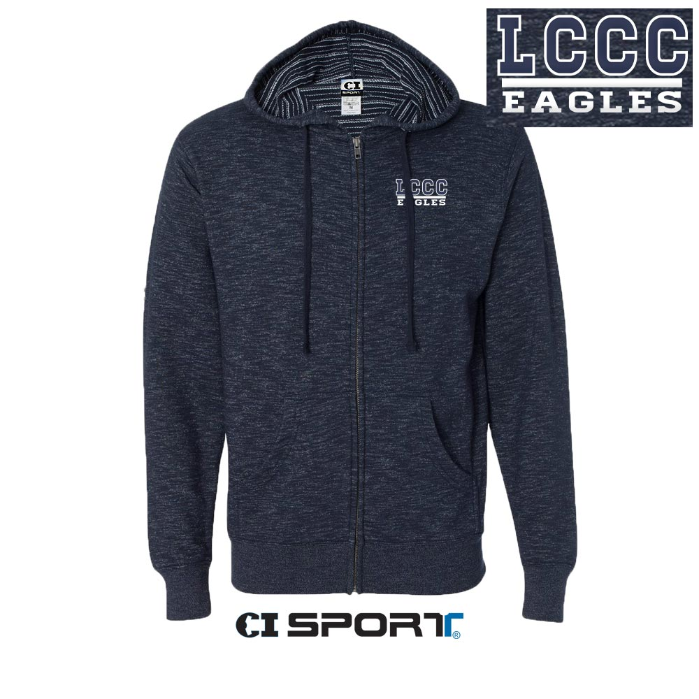 LCCC Eagles Baja Zip Hood