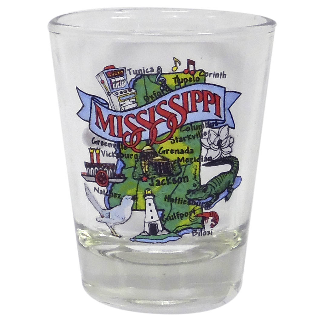 State Map Shot Glass