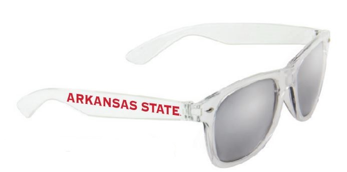 Arkansas State Silver Mirror Sunglasses