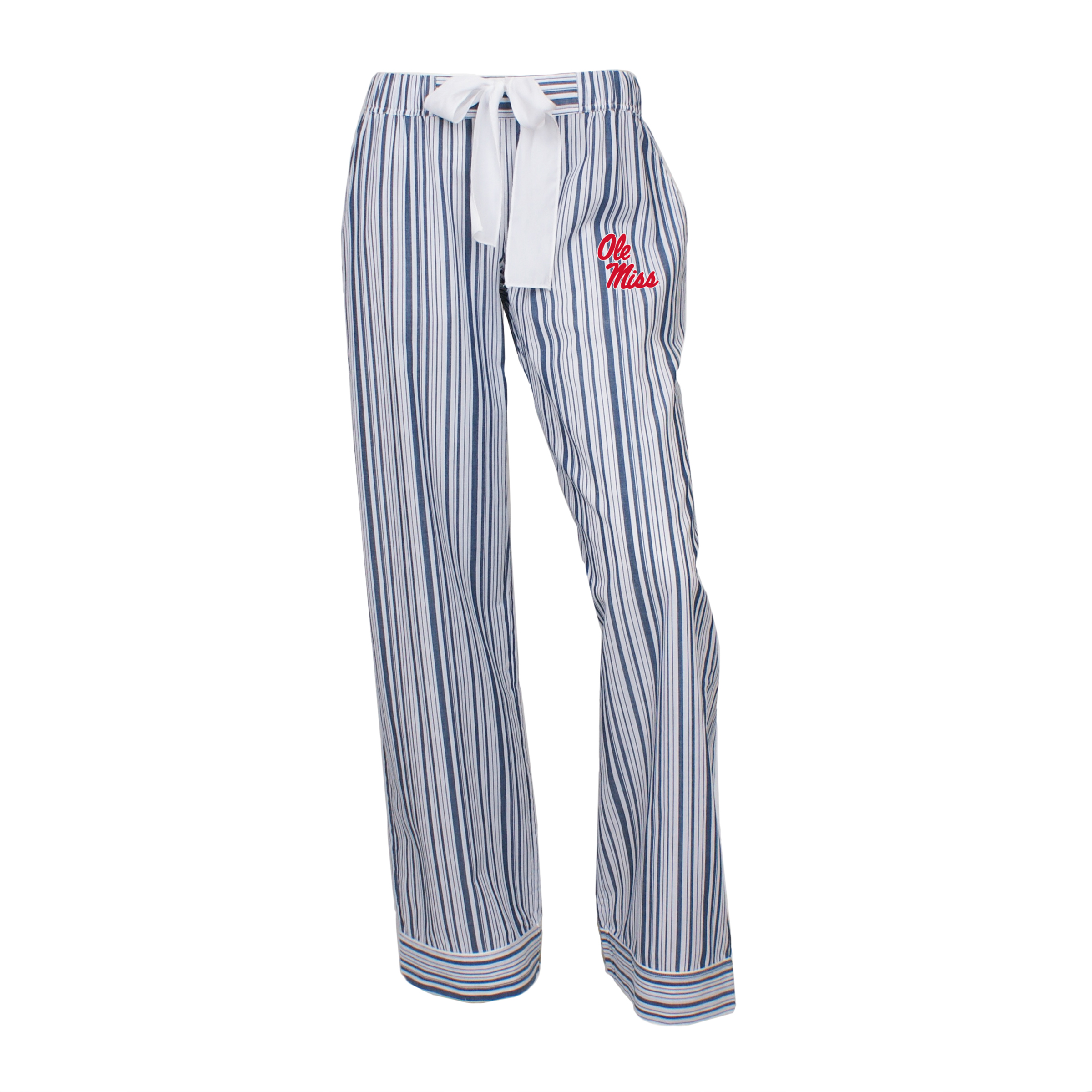 Woven Striped Women's Pants