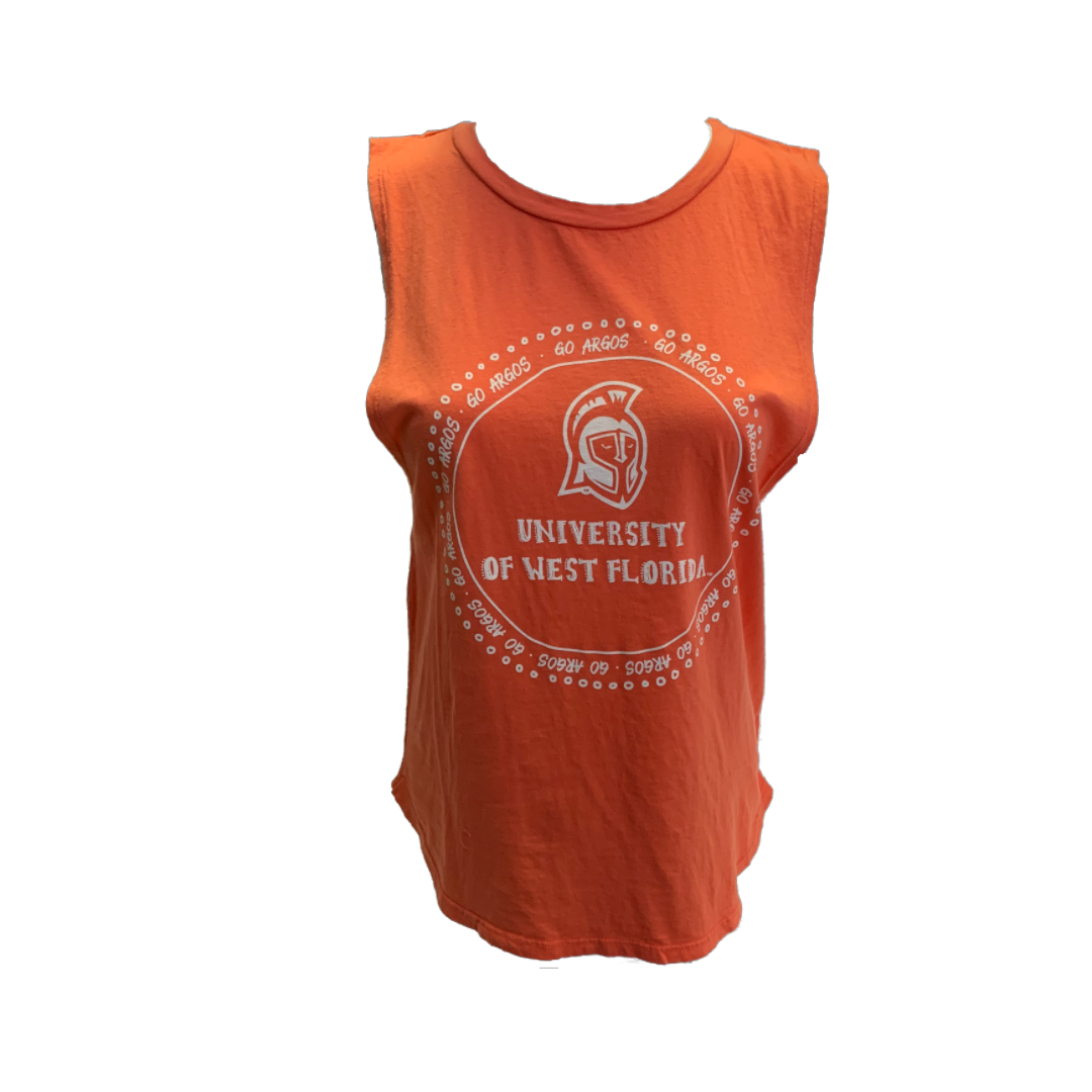 Muscle Tank Coral