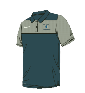 West Florida Argonauts Color Block Polo