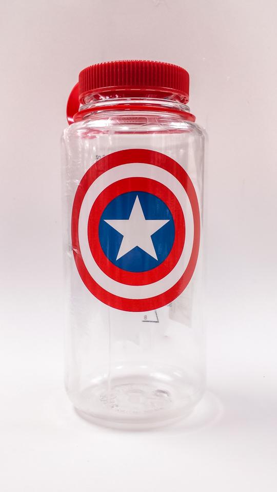 Captain America Shield 32oz Bottle