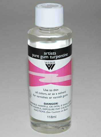 Artists Pure Gum Turpentine (236ml)