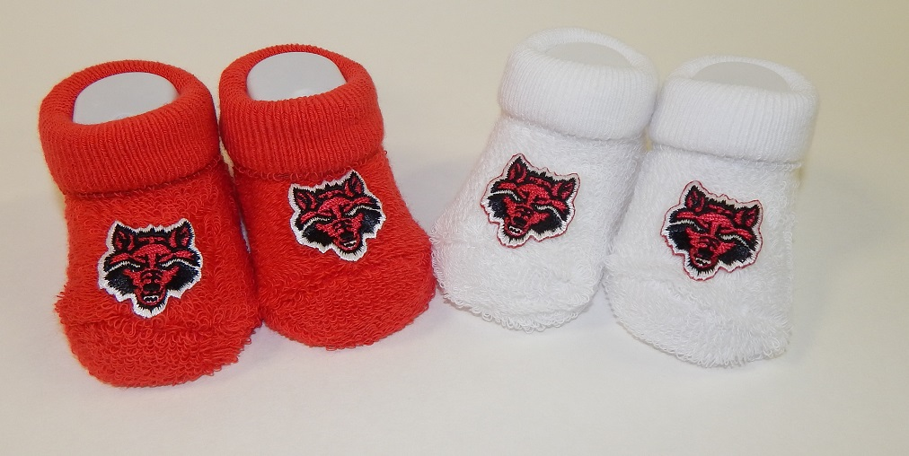 Red Wolves Duel Pack Booties