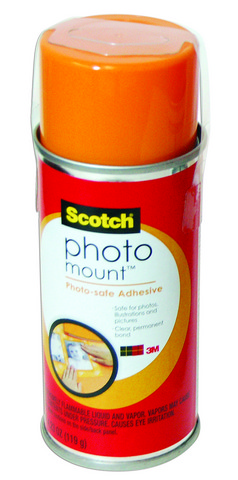 Photo Mount Spray Adhesive 4.23 oz