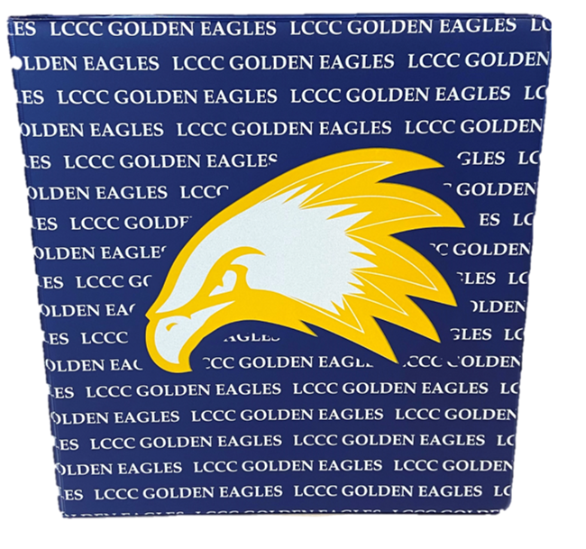 1 1/2 In. LCCC Golden Eagles Binder